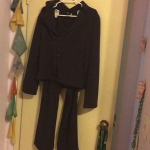 Purple pants suit women's used